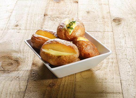 Ready Baked Potatoes
